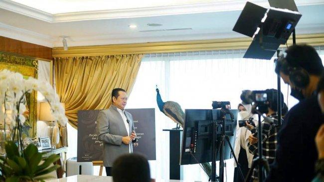Bamsoet: MPR Kolaborasi dengan ESQ Siapkan Materi Empat Pilar MPR RI