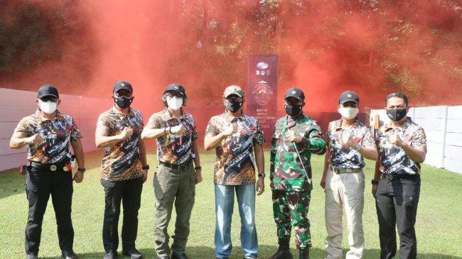 Bamsoet Hadiri Kejuaraan Menembak HUT ke-40 Satuan-81 Kopassus Open Championship 2021 IPSC Level 2