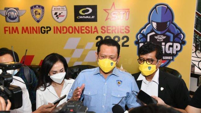 Bamsoet: IMI, FIM, & Dorna Sports MenggelarFIM MiniGP Indonesia Series - Road to MotoGP Mandalika