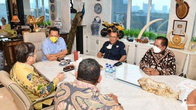 Bamsoet:Persiapan PON XX Papua di Klaster Kabupaten Merauke Capai 95 Persen