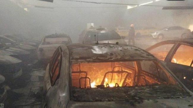 Kebakaran Garasi Mobil di Cimahi Hingga Menghanguskan 31 Unit Taksi Ternyata Ulah Sang Mantan Sopir