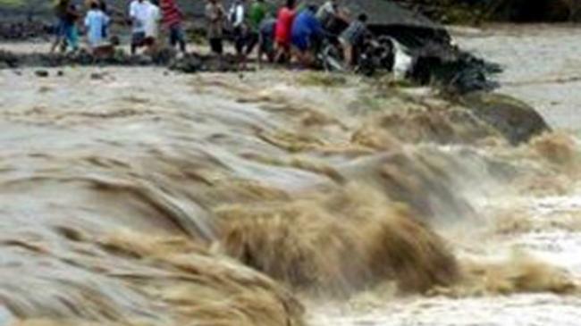 Banjir merendam 3.642 rumah di Kabupaten Gunung Mas Kalimantan Tengah