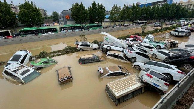 Banjir di Henan China: Korban Tewas 302 Orang, Tuai Kritik Masyarakat hingga Pelecehan Jurnalis