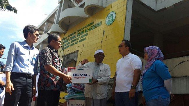 Bank Mandiri Siapkan 500 Paket Bantuan untuk Korban Gempa Bumi Aceh