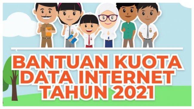 Cara Dapat Bantuan Kuota Internet Gratis Kemendikbud 2021, Cek Syarat dan Jadwal Penyalurannya