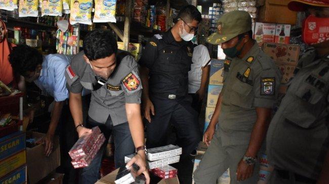 Bea Cukai Berhasil Amankan Ratusan Ribu Batang Rokok Ilegal di Jateng dan Riau