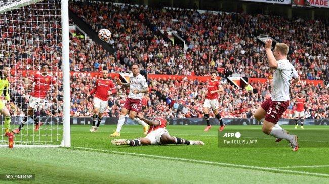 Hasil Babak I Man United vs Aston Villa Liga Inggris, Shaw Cedera, Ronaldo Minim Peluang, Skor 0-0