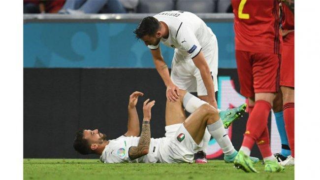 Akhir Tragis Leonardo Spinazzola di Euro 2020, Aksi Impresif Bintang Italia Berujung Tangisan