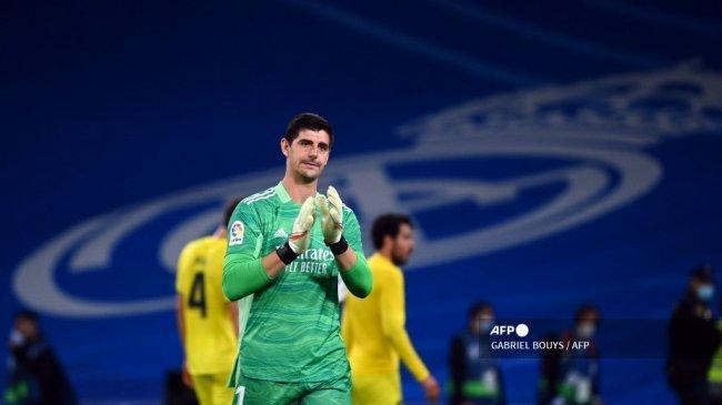 Hasil Liga Spanyol - Real Madrid Petik Satu Poin saat Jamu Villarreal, Courtois Tampil Perkasa