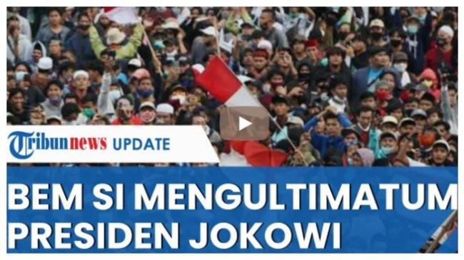 Ancaman BEM SI Beri Ultimatum Jokowi Terkait Pemberhentian Pegawai KPK, Rencana Turun ke Jalan