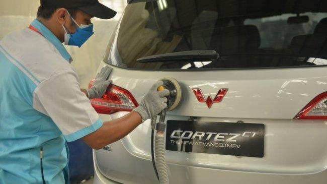 Gandeng Tekno Body Repair, Wuling Buka Layanan Bengkel Bodi dan Cat di 5 Kota Besar