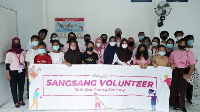 KT&G SangSang Univ. Indonesia Beri Dukungan SMP Bhakti Jakarta Untuk Gelar Pembelajaran Tatap Muka