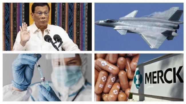POPULER Internasional: Rodrigo Duterte Mundur dari Dunia Politik | Obat Molnupiravir untuk Covid-19