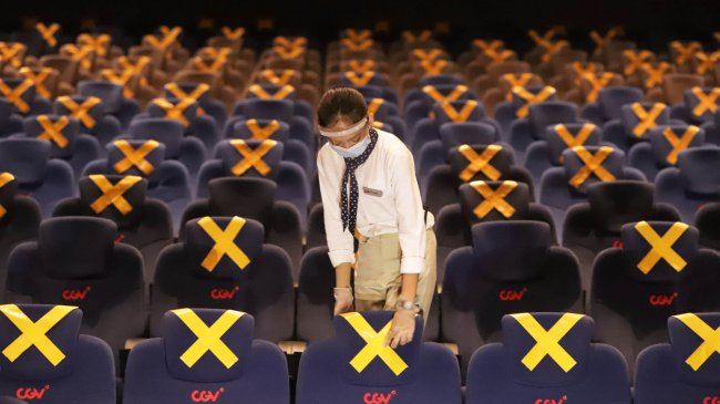Bioskop di Jakarta Kembali Dibuka