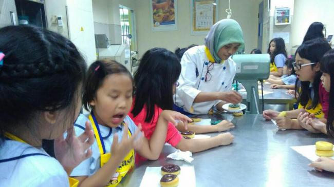 Bogasari Kenalkan Pengolahan Makanan Sejak Anak TK