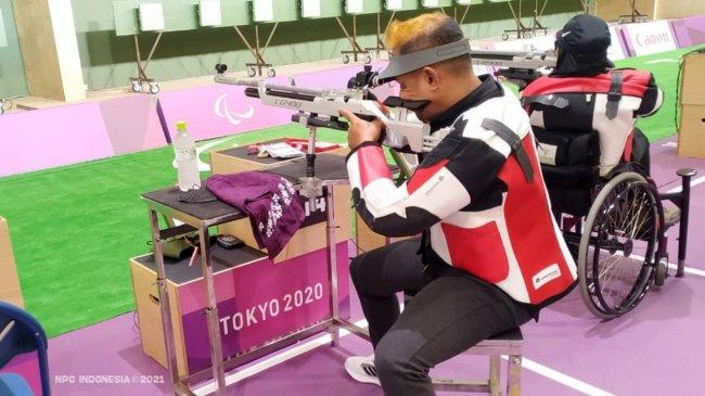 Klasemen Sementara Paralimpiade Tokyo 2020, Perolehan Medali Indonesia 1 September