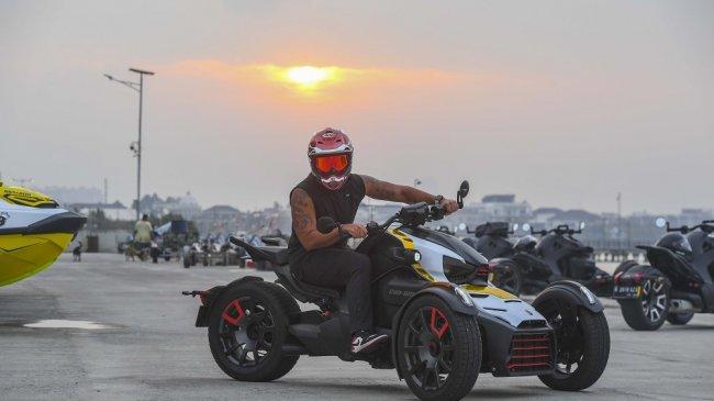 Can-Am Indonesia Kenalkan Produk Kendaraan Baru Lewat On-road Sunday Ride