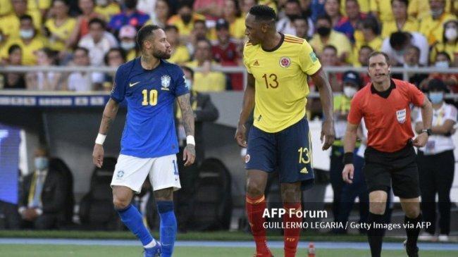 Brasil Gagal Sapu Bersih Kemenangan, Remis 0-0 Lawan Kolombia, Peringkat Klasemen Amerika Selatan