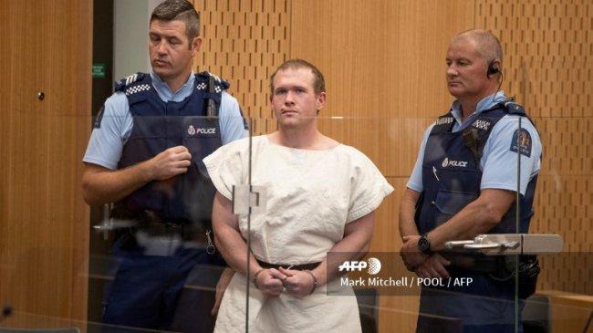 Sidang Vonis Brenton Tarrant Terdakwa Penembakan Masjid Selandia Baru Dijaga Ketat, Ada Sniper