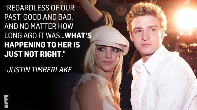 Justin Timberlake Beri Dukungan untuk Britney Spears setelah Sang Mantan Jalani Sidang Konservatori