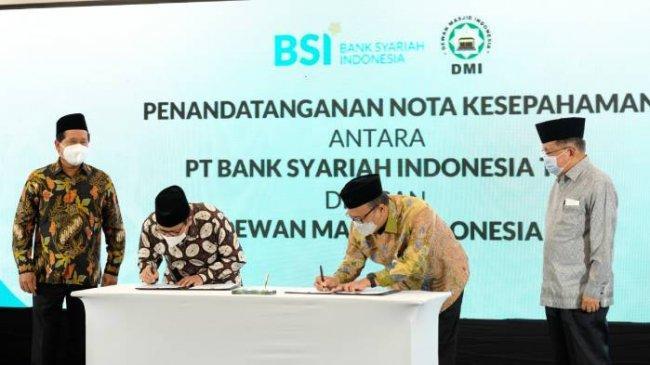 BSI dan DMI Jalin Kerja Sama untuk Optimalkan Peran Masjid di Tengah Masyarakat