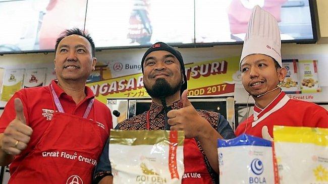 Bungasari Matsuri 2017 Pencari Makan Kekinian Bertemu Produk Terigu Jaman Now