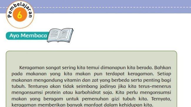 KUNCI JAWABAN Tema 3 Kelas 5 SD Halaman 112 113 114 115 116 Buku Tematik Pembelajaran 6 Subtema 3