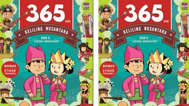 Mengajak Anak Keliling Indonesia Hanya dengan Satu Buku
