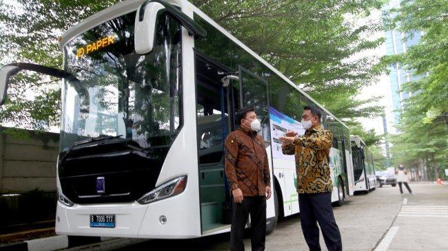 Bus Listrik Akan Dioperasikan di Kawasan Pariwisata 'Bali Baru' Mulai 2025