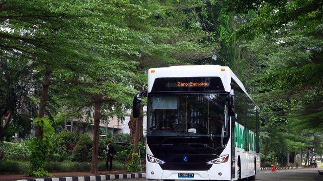 Grup APRIL Beli 2 Bus Listrik 12 Meter dari MAB, Langsung Diboyong ke Pangkalan Kerinci