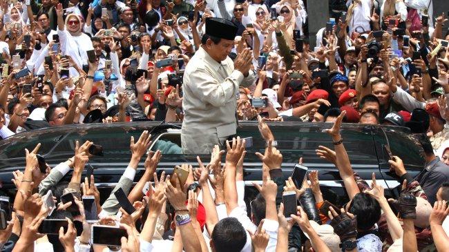 Bila Prabowo Maju Capres 2024, Pendampingnya Diharap dari Kalangan Muda yang Bisa Gerak Cepat