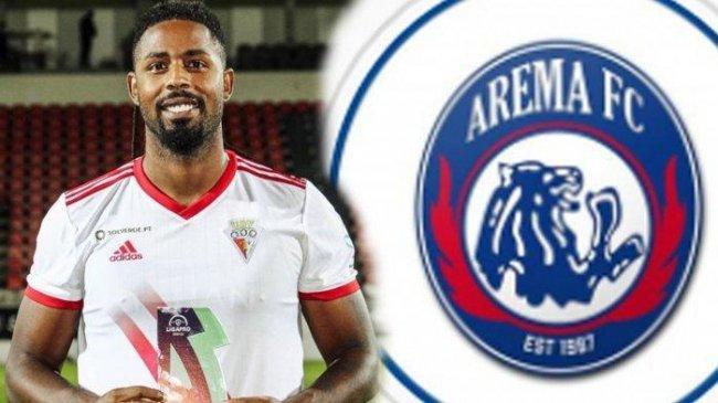 Carlos Fortes Striker Arema FC yang Sudah Mendarat, Inilah Profilnya