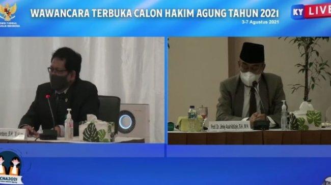 Ditanya Mengatasi Tumpukan Perkara di Indonesia, Calon Hakim Agung Catur Iriantoro Jawab Begini