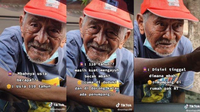 POPULER REGIONAL Viral Kisah Kakek 110 Tahun Penarik Becak | Pemuda Habisi Ayah dan Kakak Kandungnya
