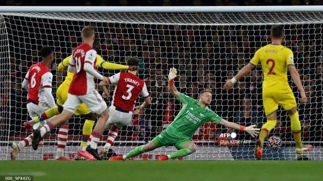 Hasil Liga Inggris: Arsenal Nyaris Malu di Kandang, Lacazette Buyarkan Mimpi 3 Poin Crystal Palace