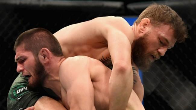 Kalimat yang Keluar dari Mulut Khabib Nurmagomedov Usai Hajar Conor McGregor