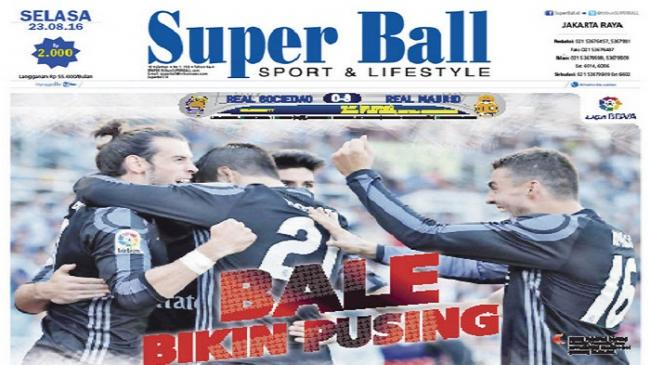 Gareth Bale Bikin Zinedine Zidane Pusing
