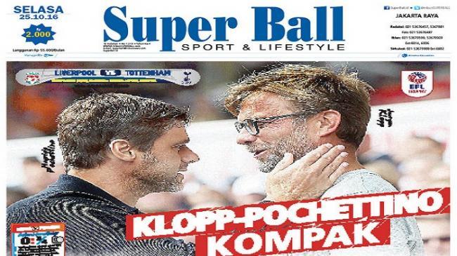 Juergen Klopp dan Mauricio Pochettino Kompak Turunkan Pemain Muda