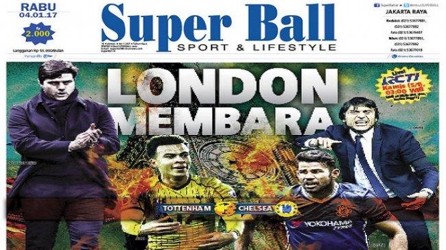 Tottenham Hotspur Siap Jegal Chelsea