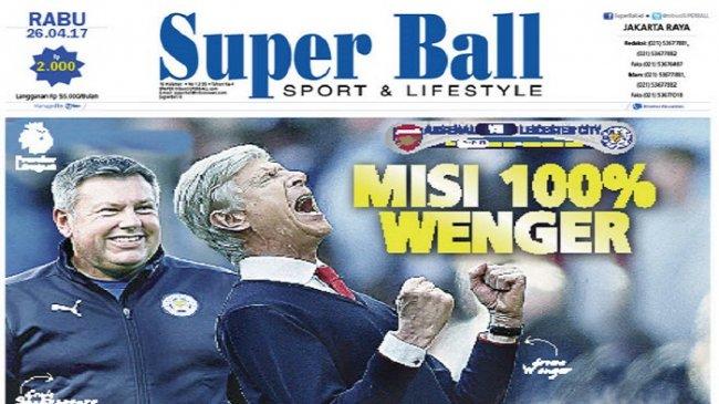 Arsenal Usung Target Kemenangan 100 Persen