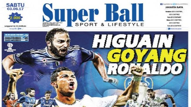 Gonzalo Higuain Siap Goyang Hegemoni Cristiano Ronaldo