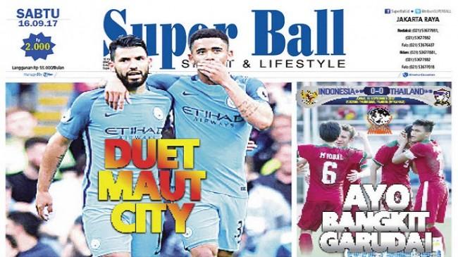 Manchester City Andalkan Duet Maut Sergio Aguero dan Gabriel Jesus