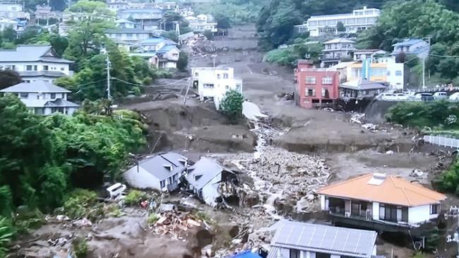 Longsor di Atami Jepang, Satu Warga Asing Hilang, Tak Ada Korban WNI