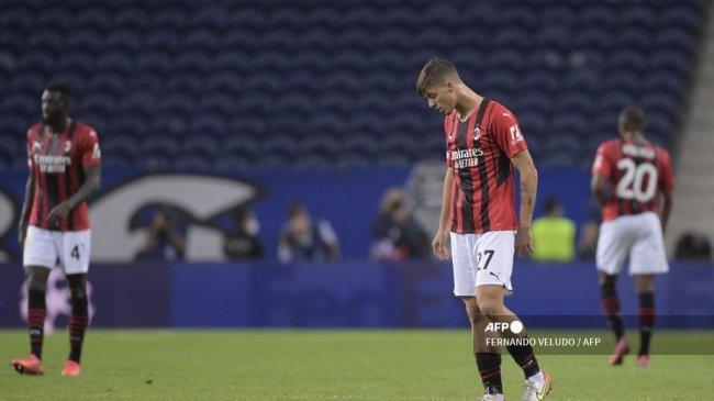 Rapor Jeblok AC Milan di Liga Champions Justru Jadi Fondasi Terciptanya Sejarah Baru