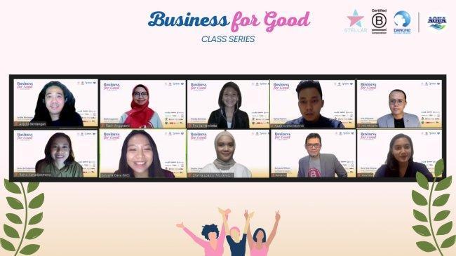 Perempuan Usahawan Diajak Kembangkan Usaha Lewat Program Business for Good Class Series