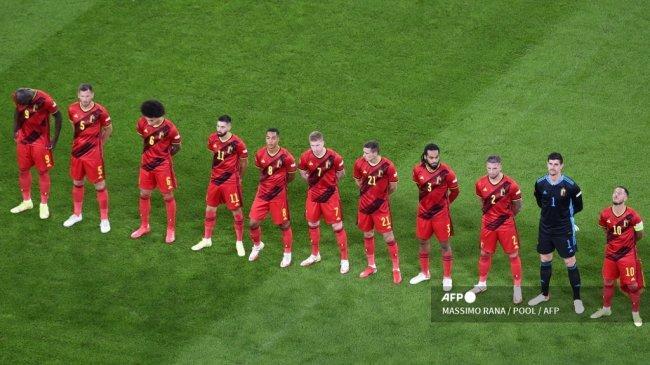 Respons Pelatih Belgia Setelah Lukaku Cs Kena Comeback Prancis: Kami Terlena Mimpi Indah