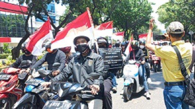 Masih PPKM, Polisi Bubarkan Demo Tolak Formula E di Gedung DPRD DKI Jakarta