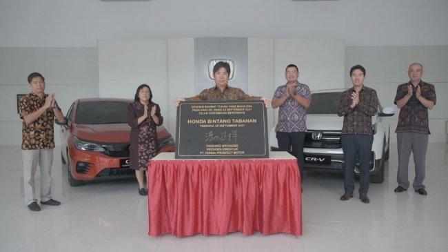 Genjot Pasar Bali, Honda Buka Dealer Keempat di Tabanan