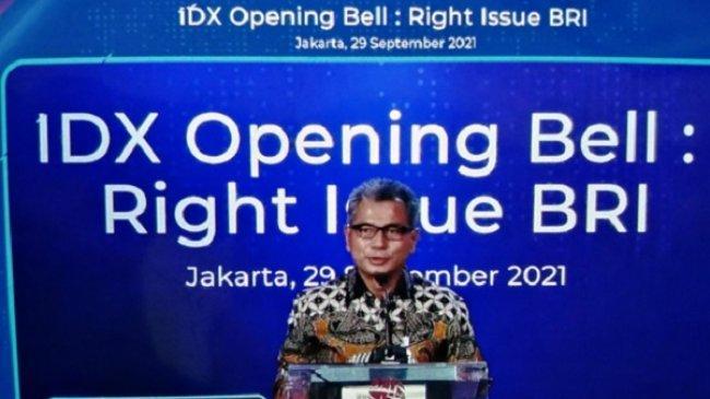 Right Issue Oversubscribed, BRI Kantongi Dana Rp 95,9 Triliun