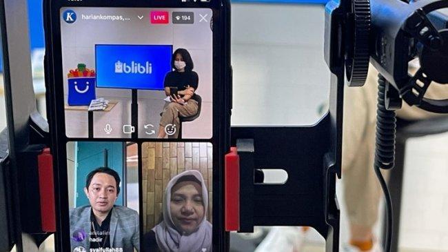Harian Kompas-Blibli Kupas Pentingnya UMKM Memahami Dunia Digital